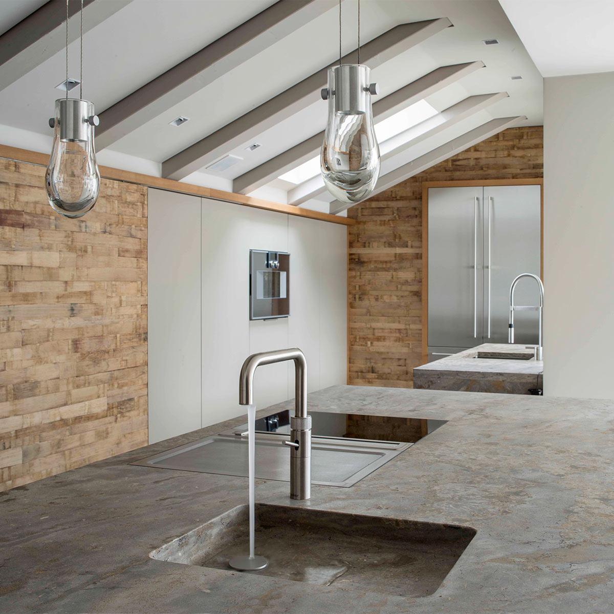 naturstein kchenplatte good darber hinaus verhindert die glatte oberflche with naturstein. Black Bedroom Furniture Sets. Home Design Ideas